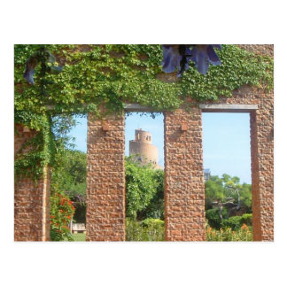 Postal espiral del castillo de Okinawa
