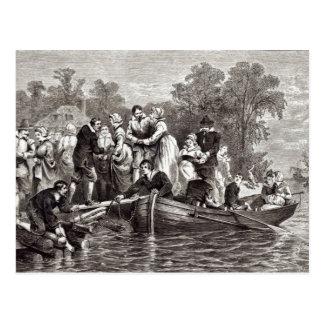 Postal Esposas para los colonos en Jamestown
