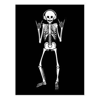 Postal Esqueleto oscilante