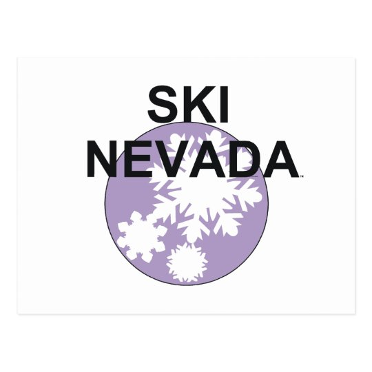 Postal Esquí SUPERIOR Nevada