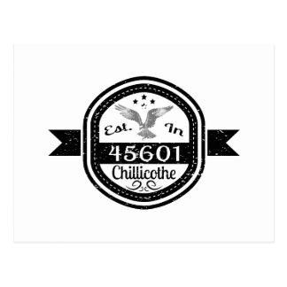 Postal Establecido en 45601 Chillicothe