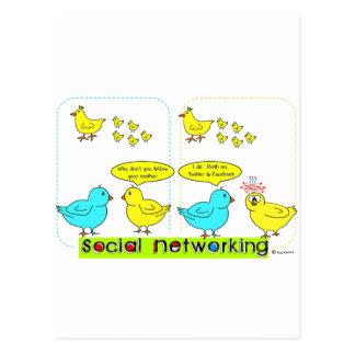 Postal Establecimiento de una red social