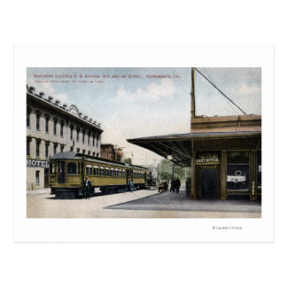 Postal Estación de ferrocarril eléctrica septentrional