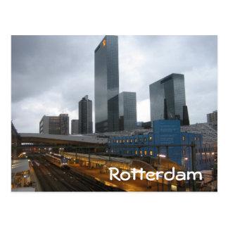 Postal Estación de la central de Rotterdam