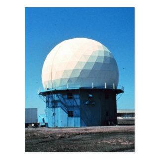 Postal Estación de radar meteorológico de Doppler -