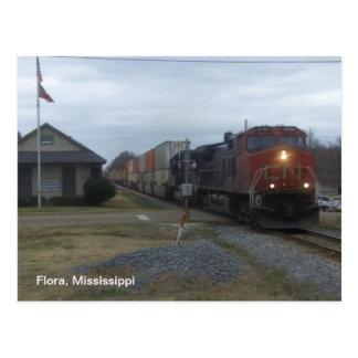Postal Estación de tren