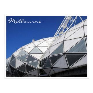 Postal estadio de Melbourne