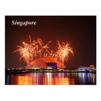 Postal Estadio del nacional de Singapur