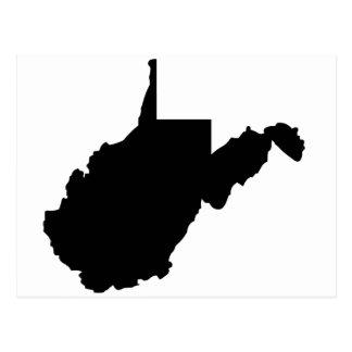 Postal Estado americano de Virginia Occidental