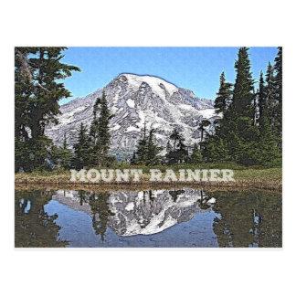 Postal Estado del Monte Rainier - de Washington