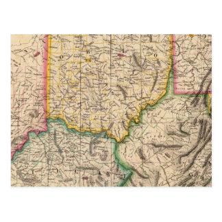 Postal Estados Unidos, América septiembre del 50
