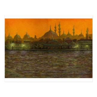 Postal Estambul Türkiye/Turquía