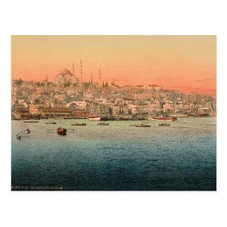 Postal Estambul - visión desde el puente