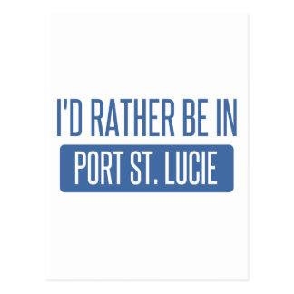 Postal Estaría bastante en el puerto Sta. Lucía