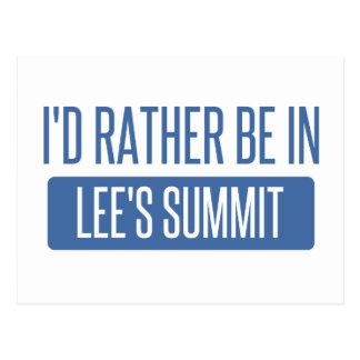 Postal Estaría bastante en la cumbre de Lee
