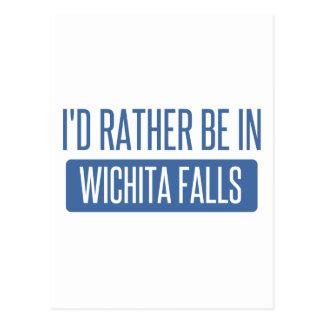 Postal Estaría bastante en las caídas de Wichita