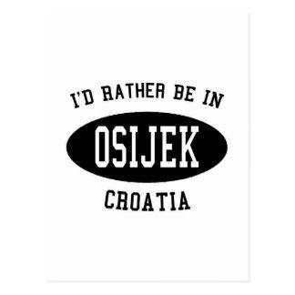 Postal Estaría bastante en Osijek