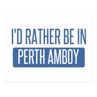Postal Estaría bastante en Perth Amboy