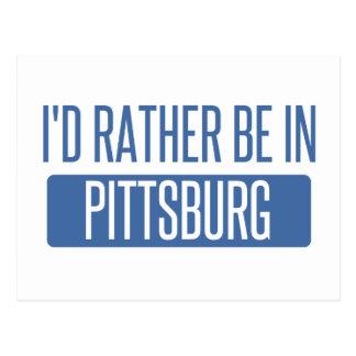 Postal Estaría bastante en Pittsburg