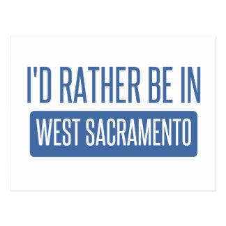 Postal Estaría bastante en Sacramento del oeste