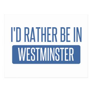 Postal Estaría bastante en Westminster CA
