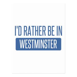 Postal Estaría bastante en Westminster CO