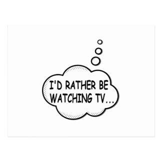 Postal Estaría viendo bastante la TV