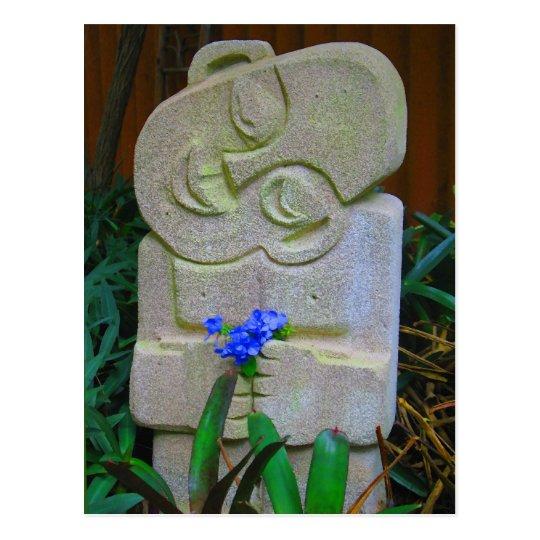 Postal Estatua de Bali
