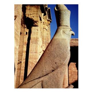 Postal Estatua de Horus