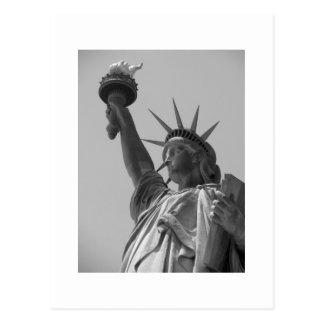 Postal Estatua de la libertad 5
