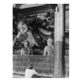 Postal Estatua grande de Buda en Tailandia