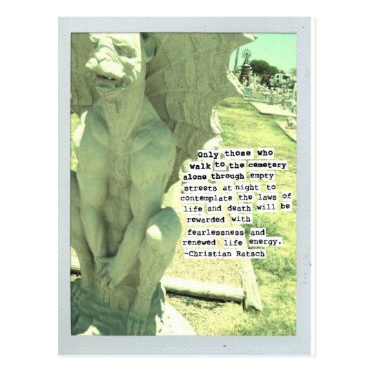Postal estatuaria