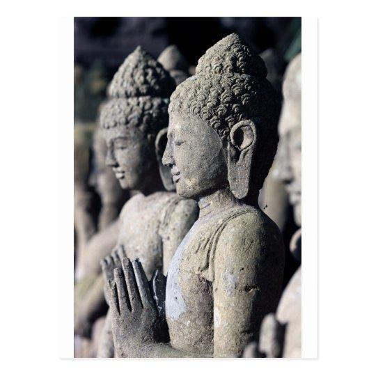 Postal Estatuas de piedra de Buda