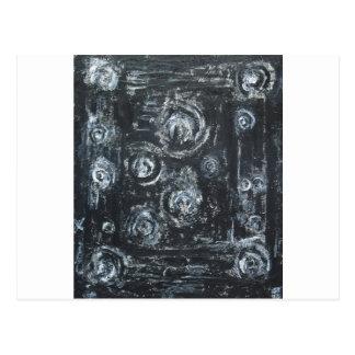 Postal Estelas de los remolinos (expresionismo abstracto)