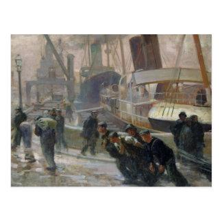 Postal Estibadores de Liverpool en Dawn, 1903