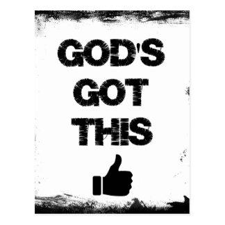 Postal Estímulo: Dios conseguido esto