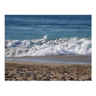 Postal Esto es una fotografía de mi playa preferida hasta