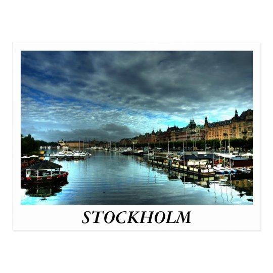 Postal Estocolmo
