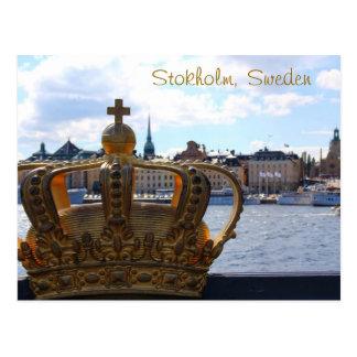 Postal Estocolmo, Suecia