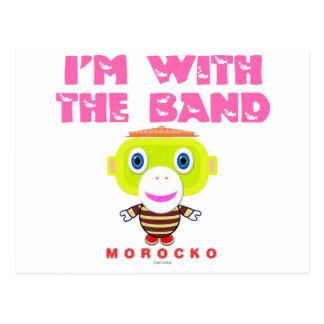 Postal Estoy con el Mono-Morocko Banda-Lindo