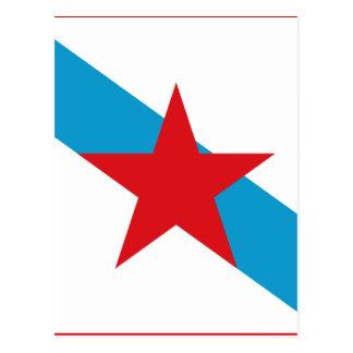 Postal Estreleira - Bandera Independentista Gallega