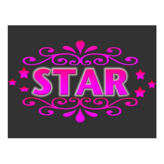 Postal Estrella