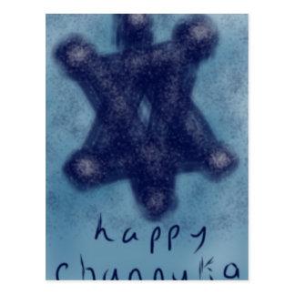 Postal Estrella de Channukah