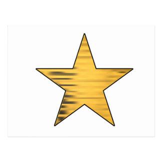 Postal Estrella del oro