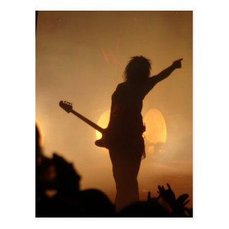 Postal Estrella del rock