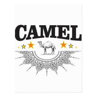 Postal estrellas del camello
