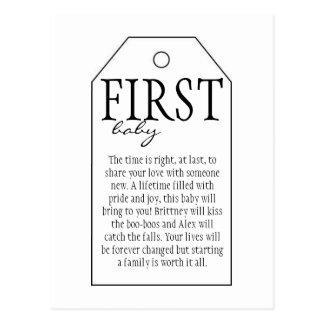 Postal Etiqueta del regalo para la botella de vino -