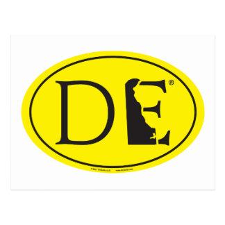 Postal Euro del orgullo del estado: DE Delaware
