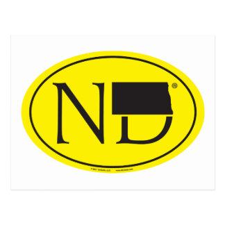 Postal Euro del orgullo del estado: ND Dakota del Norte