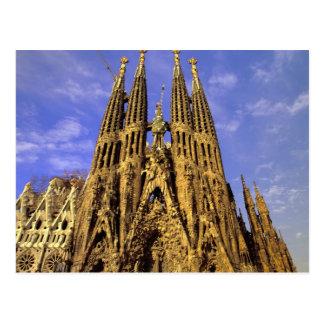 Postal Europa, España, Barcelona, Sagrada Familia